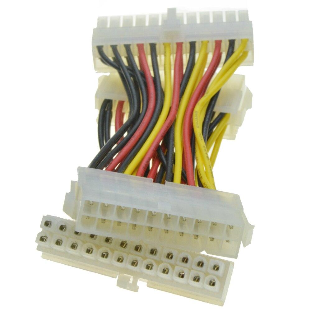 переходник с 20 на 24 pin схема