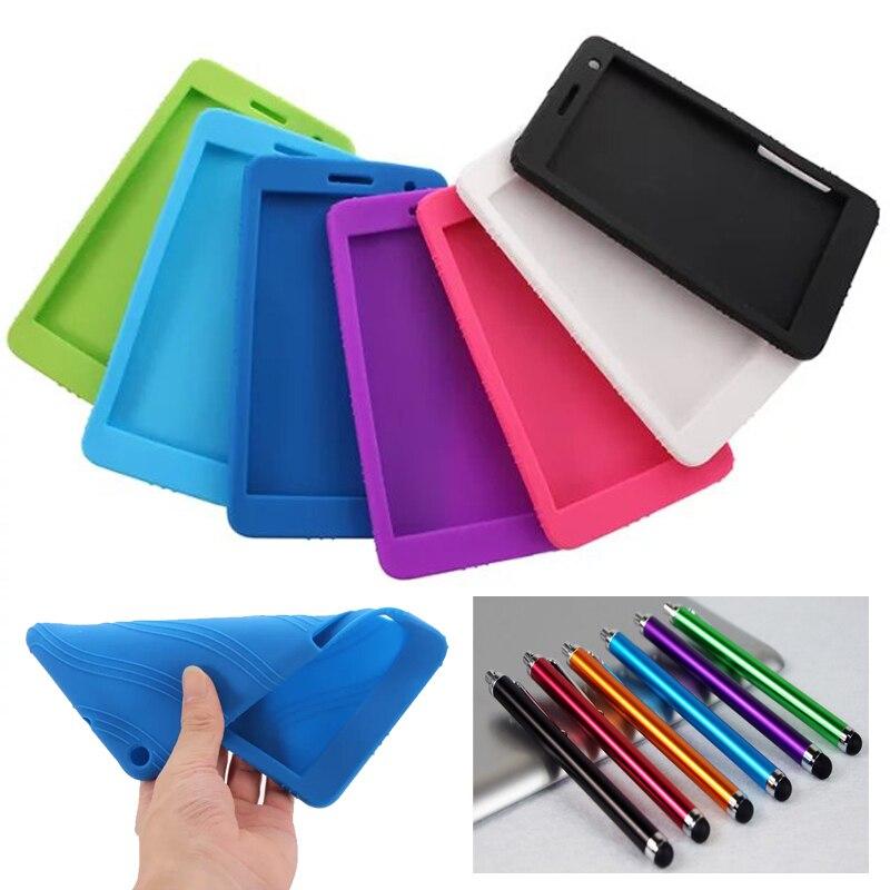 Nouveau Mode Enfant Doux housse en silicone Pour Huawei MediaPad T1 7.0 T1-701U Tablet cas pour huawei t1 7.0 T1-701 étui En Silicone