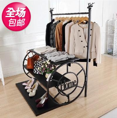 Beau Coat Hangers Clothing Store Clothing Display Shelf Showcase Island Water  Table Shoe Bag Rack