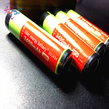 2 PCS/lot New Protected Original Rechargeable battery 18650 NCR18650B 3400mah with PCB 3.7V Free Shipping