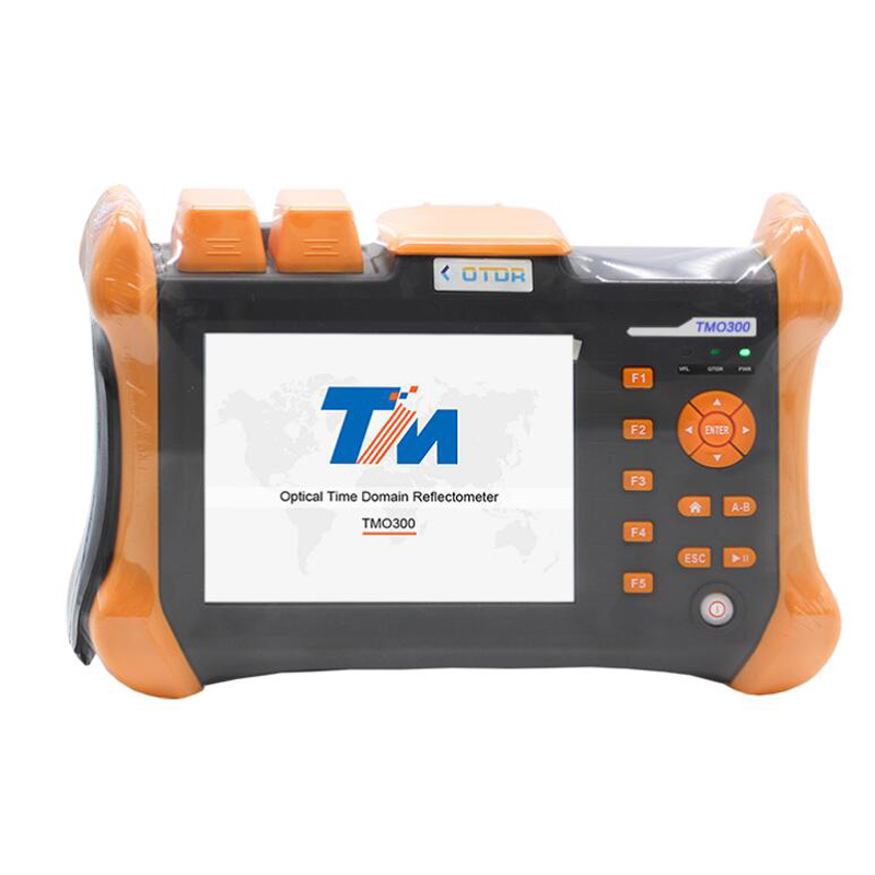 ZHWCOMM OTDR TMO 300 SM 28 26dBm 80KM Touch Screen Optical Time Domain Reflectometer Integrated VFL