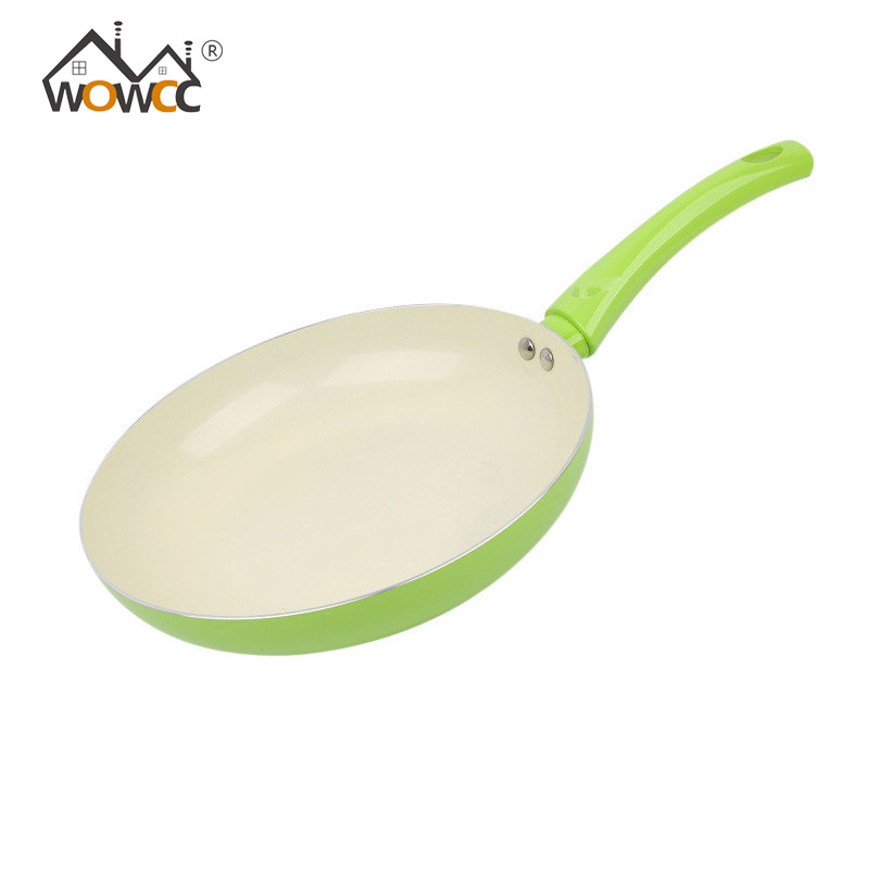 WOWCC 1PC 26cm Non-stick Copper Frying Pan with Ceramic Coating and cooking,Oven & Dishwasher Safe,Ceramic Nonstick Skillet