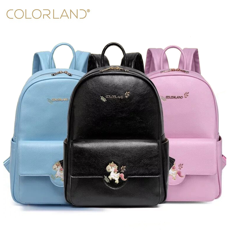 Colorland baby changing mom mummy maternity nappy diaper dag backpack fashion PU Leather baby Organizer bags handbags for moms aimababy 2017 new pu designer baby diaper nappy changing mummy maternity bag organizer bags for mom backpack bolsa maternidade