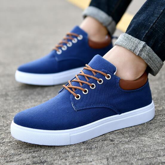 558009 Respirável Big Preto Sapatos Homens Hombre Lona Zapatos Outono Branco Flat 2018 Preguiçosos Size Shoes up De Das Casuais Sapatas Lace fFwYURCq