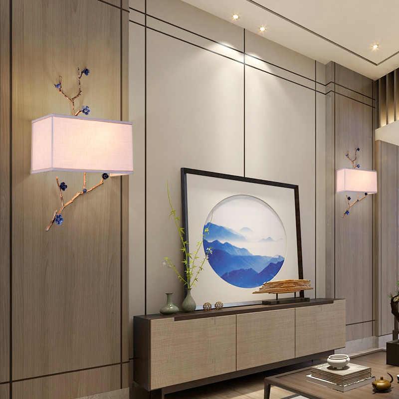 Современный короткий нордический настенный светильник 220 В металлический светодиодный светильник для спальни для столовой комнаты и прихожей, кабинет, американский стиль, лофт декор, настенные светильники