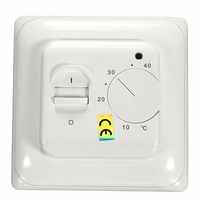 ZHIYANG 230V AC 50 60Hz Mechanical Manual Heating Thermostat For Underfloor Electric Heating System 16Amp Room