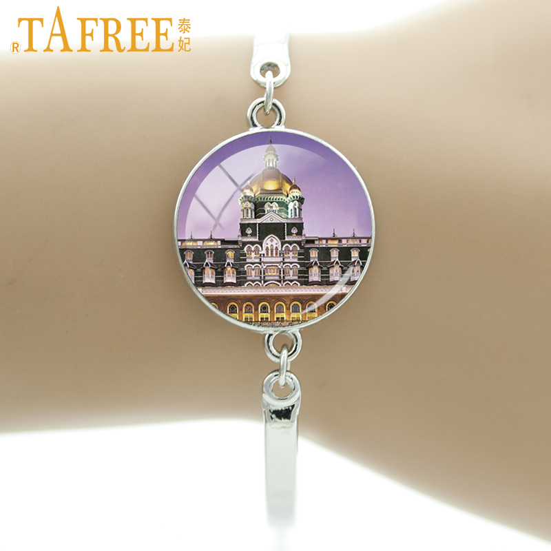 Online Shop TAFREE Temple Taj Mahal Bracelet one of the most ...