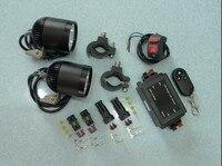 Lddczenghuitec 4 * U2 LED чип 36 Вт 3600 люмен водонепроницаемые мотоциклетные LED Фонарь с поворотов мотоцикл светодиодные фары