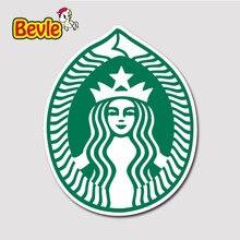 Bevle 2070 Starbucks-tg Zeichen Flut Wasserdicht Aufkleber Laptop Gepäck Mode Graffiti Auto Cartoon 3 Mt Aufkleber