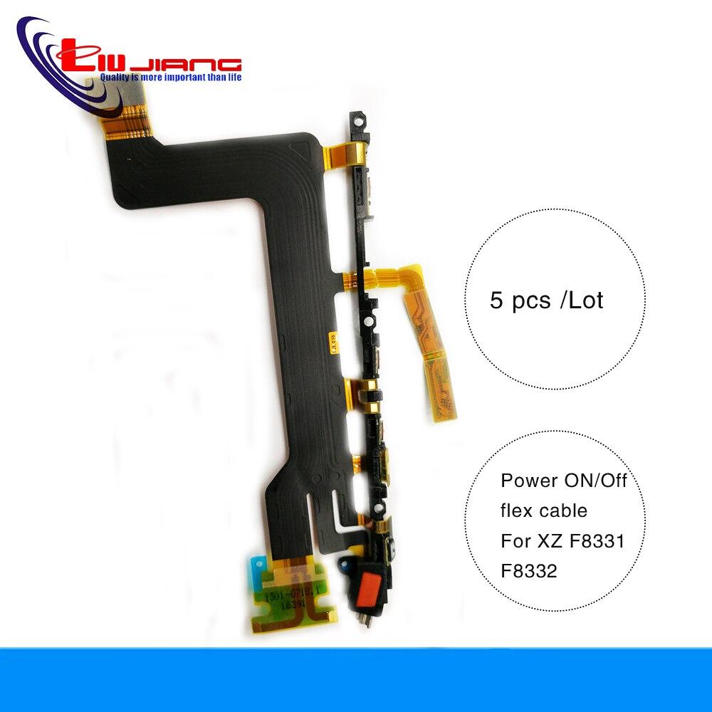 Liujiang 5 pcs/lot bouton marche/arrêt Original câble de câble de clé de Volume pour Sony XZ F8331 F8332 pièces de rechange