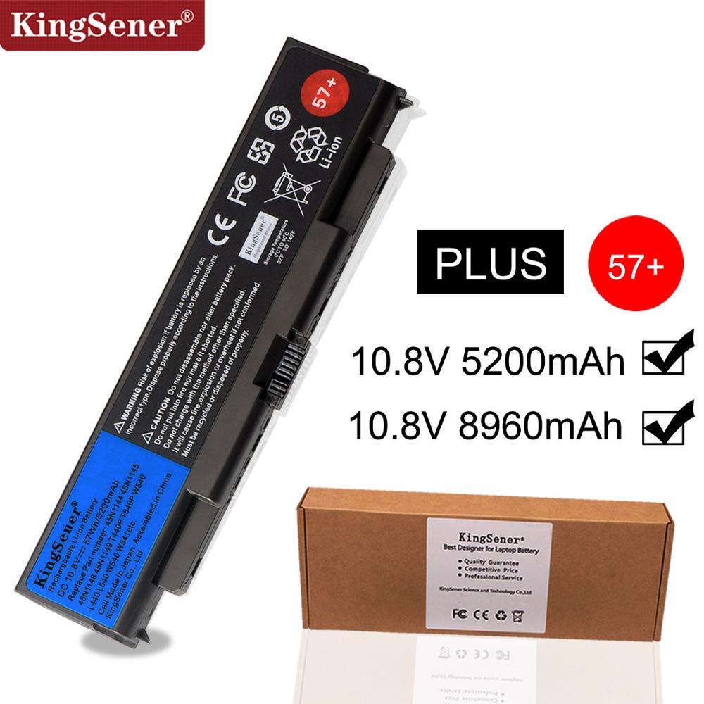 KingSener Nouvelle batterie d'ordinateur portable pour Lenovo ThinkPad T440P T540P W540 W541 L440 L540 45N1144 45N1145 45N1148 45N1159 45N1158 57 +