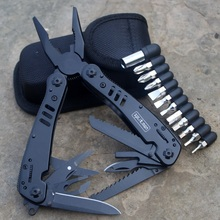 Фотография EDC Gear Multitool Folding Plier Camping Knife G301B Tool Pliers Fishing Multifunctional Screwdriver Bit Scissors Tactical Plier