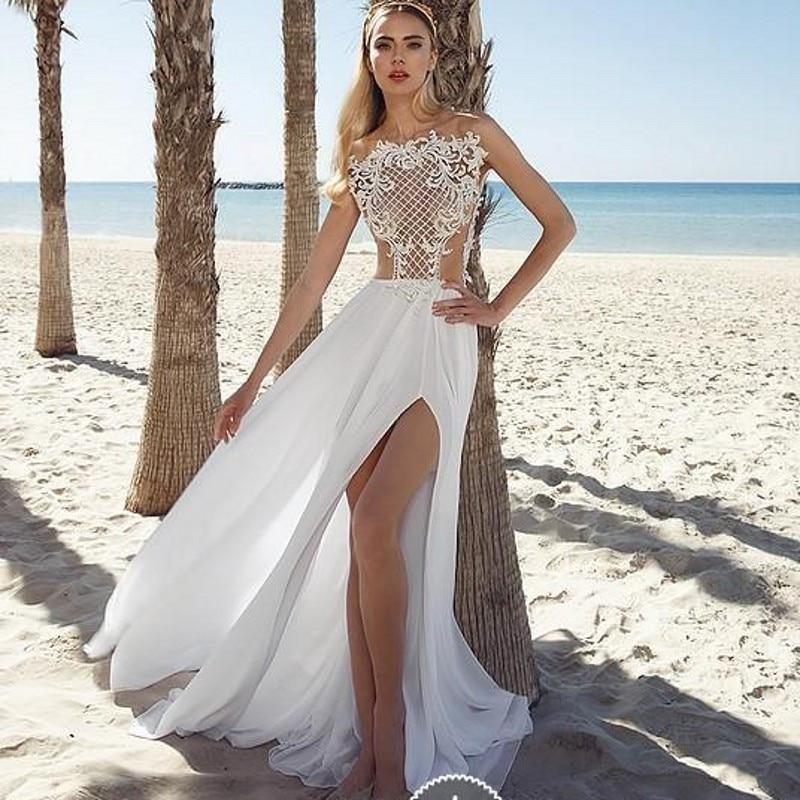 Vestidos De Novia Para Bodas En La Playa de alta calidad ...