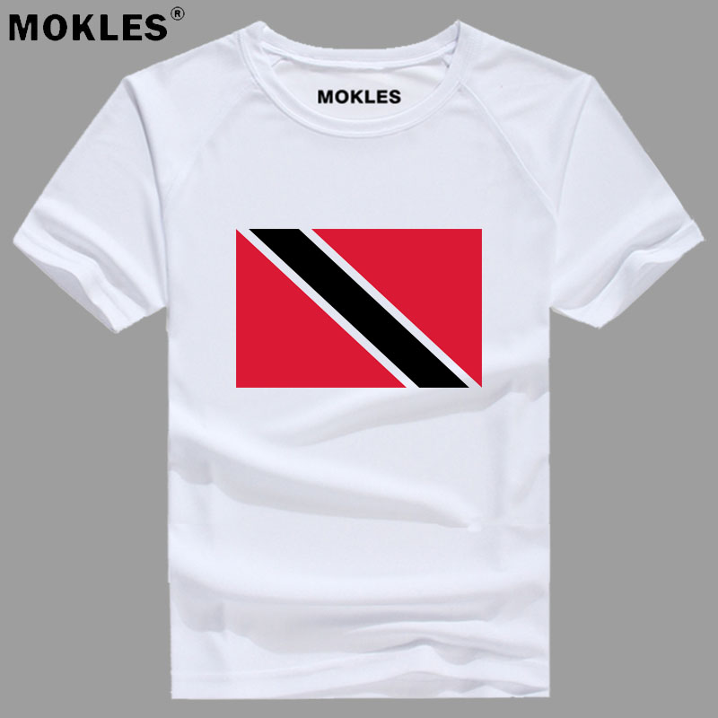 TRINIDAD AND TOBAGO t shirt diy free custom made name number tto T-Shirt nation flag tt country college print photo text clothes
