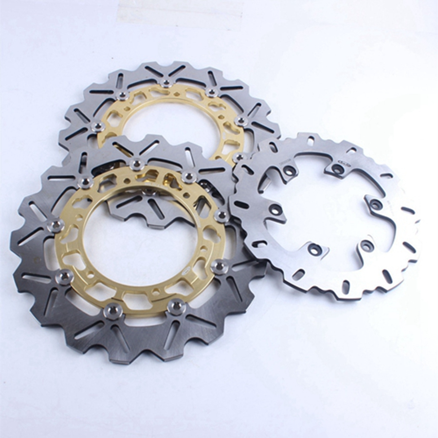 Motorcycle Front & Rear Brake Disc Set Rotors Pats For Yamaha YZF R1 1998 1999 2000 2001 XJ N 1998-2003 99 00 01 02 Accessories motorcycle rotor rear brake disc for yamaha yp 250 majesty mbk skyliner 1998 1999