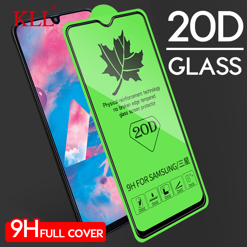 20D Full Cover Tempered Glass For Samsung Galaxy M40 M30 M20 M10 Screen Protector For Galaxy A70 A50 A40 A30 A20 A10 A9 A8s A7