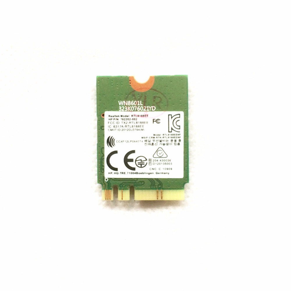 RTL8188EE 150M NGFF WiFi Wireless Card 792202-002 792609-001 For HP 14-AF 15-AF 17-G