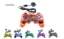 Wired Gamepad for PS2 controller playstation 2 Vibration video gaming play station for Sony PS 2