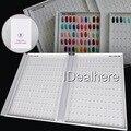 Nuevo 308 Color de la Pantalla Gráfico de Libro Tips Nail Art Polaco ULTRAVIOLETA del Gel para Uñas Salón de Arte Accesorios