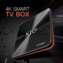 DJYG  S10 Amlogic S912 Octa Core DRR4 3GB 64GB eMMC Android 7.1 TV Box 2.4G/5G Wifi Lan 1000M BT4.1 4K Media Player