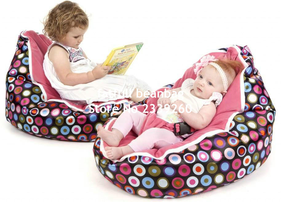 Zitzak Vulling Action.Cover Only No Fillings Pink Balls Babyinfant Bean Bag Snuggle Bed