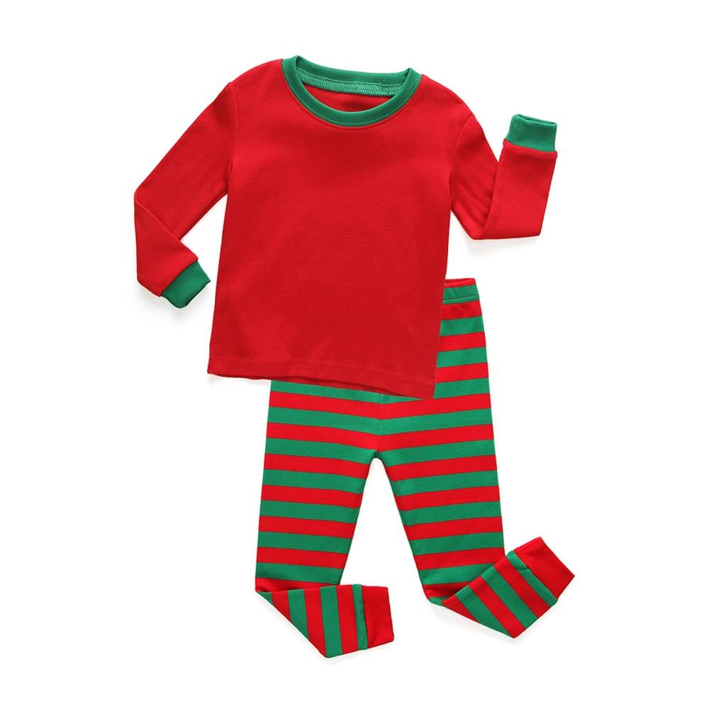 34bcc15fb6 Dropwow 100 Cotton Baby Girls Pajama Sets Children Full Sleeve ...