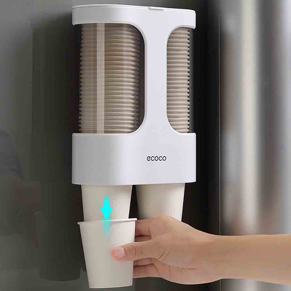 Shelf Dispenser Cup-Holder Rack Cups Pull-Type Automatic