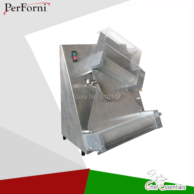DR-2A Dough roller high power commercial pizza bread sheeter for pizza shop pasta 100-300mm 15 inch pizza press machine commercial stainless steel pizza dough maker pizza dough forming machine 370w dr 1v ce