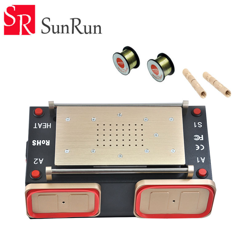 3 in 1 Multifunction Preheater Station Middle Bezel Frame Separator Machine Vacuum Screen Separator Machine latest for sumsung i9600 9500 9300 s5 s4 s3 note2 note3 lcd screen bezel middle frame separator
