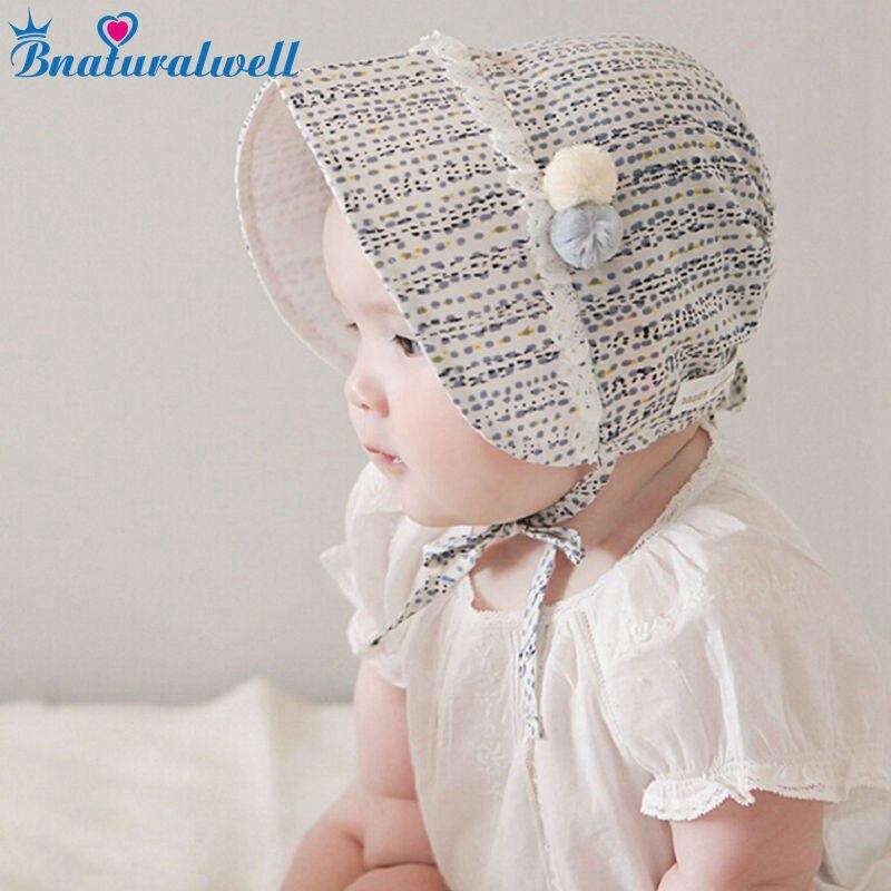 Girl Baby Newborn Baptism Princess Lace Hat Cap Beanie Bonnet Hair Accesorries