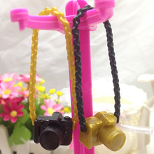 Plastic Camera For BJD Doll Toys For Doll DIY Camera Random Color(China)