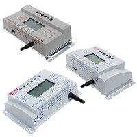 LCD 20 30 40A 12V 24V MPPT Solar Panel Battery Regulator Charge Controller T20 3 Timer