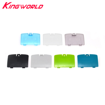 100pcs Replacement Battery Cover Lid Door For G-ameboy Color For G-BC Housing Back Door Case
