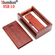 SHANDIAN  wooden usb flash drive Pendrive 8GB 16GB 32GB