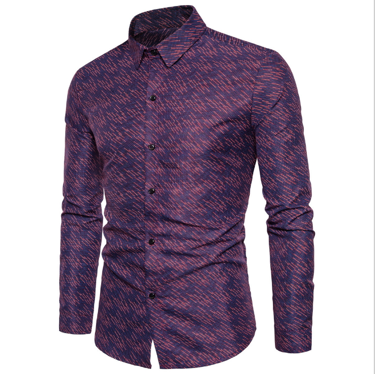 ae9b51ba7f2a Mens Paisley Shirts Vintage Palace Flowers Printed Shirts Male Slim Fit  Long Sleeve Retro Chinese Style Floral Shirts for Men -in Dress Shirts from  Men s ...