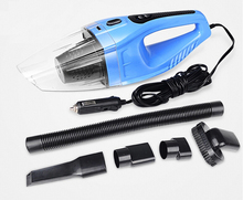 Portable Auto Vacuum Cleaner 12V 120W Super Suction Car Vacuum Cleaner Wet and Dry Aspirador De Po Portatil With Car Charger