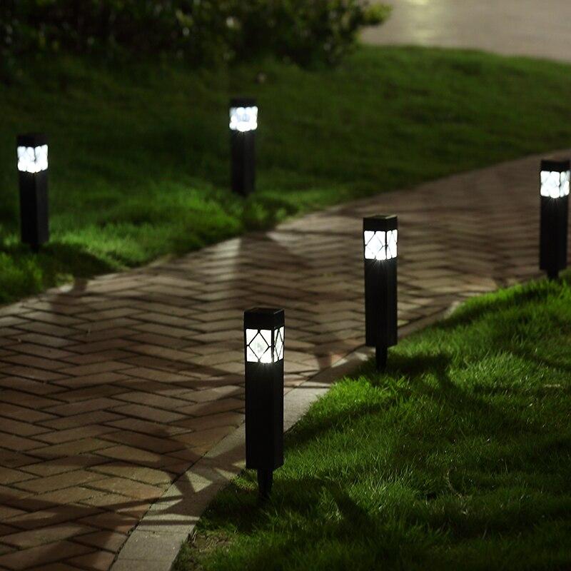 Best Outdoor Solar Powered Landscape Lights 2019: 2019 Solar Panel LED Spike Spot Light Spotlight Landscape