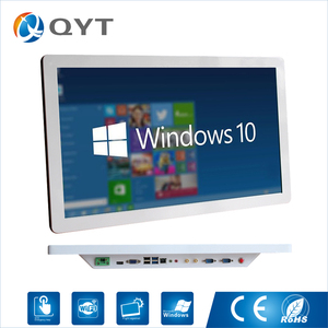 Image 1 - Intel Core i5 3337u  Industrial Computer Win10 Fanless Panel PC 1920*1080minipc all in one  4*USB 2*RS232