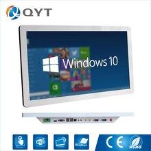 إنتل كور i5 3337u الكمبيوتر الصناعية Win10 بدون مروحة لوحة PC 1920*1080 minipc جميع في واحد 4 * USB 2 * RS232