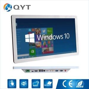 Image 1 - インテルコア i5 3337u 産業用コンピュータ Win10 ファンレス Pc 1920*1080 minipc のオールインワン 4 * USB 2 * RS232