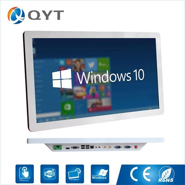 インテルコア i5 3337u 産業用コンピュータ Win10 ファンレス Pc 1920*1080 minipc のオールインワン 4 * USB 2 * RS232
