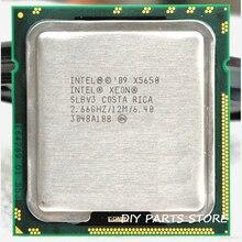 INTEL XONE X5650 Sechs core 2,67 MHZ LeveL2 12 Mt 6 core ARBEIT FÜR lga 1366 montherboard
