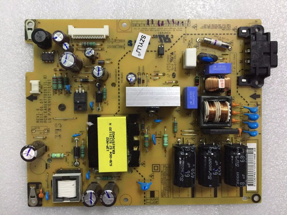 SZYLIJ 100%ใหม่และเป็นต้นฉบับ42LS3150 CA EAX64770201 (1.8) EAX62713701 REV1.0แอลซีดีทีวีแหล่งจ่ายไฟเดิมคณะกรรมการLGP42P 12LPB-ใน อุปกรณ์จ่ายไฟ จาก อุปกรณ์อิเล็กทรอนิกส์ บน AliExpress - 11.11_สิบเอ็ด สิบเอ็ดวันคนโสด 1