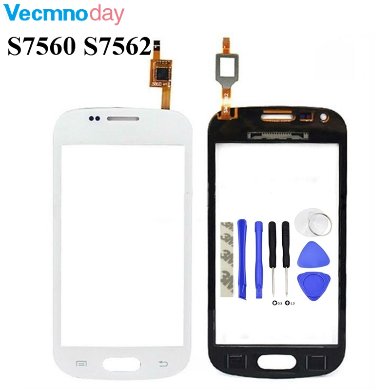 Vecmnoday 4.0'' For Samsung galaxy Trend GT S7560 S7562 Digitizer Touch Screen Glass Screen Replacement