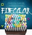 Finecolour 30/40/50/60/160 набор красочные и профессиональные эскизы перманентные маркеры для маркеры манги для рисования
