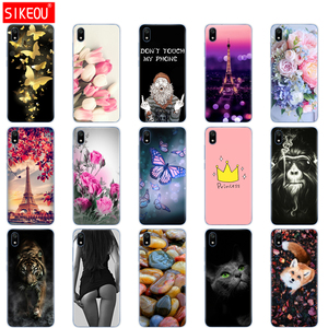 Image 2 - silicone case for xiaomi redmi 7a cases full protection soft tpu back cover on redmi 7 a bumper hongmi 7a phone shell bag coque