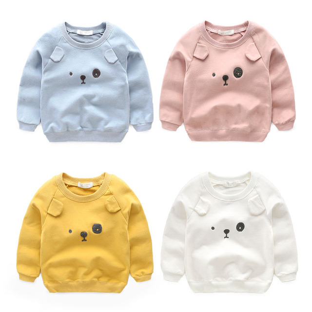 boys t-shirt baby clothes Kids leisure tops spring and autumn