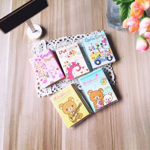 1pcs/lot 85*60mm New Cute cartoon Animal Notepad Memo sticky note pad point marker Post it scratch notes retail