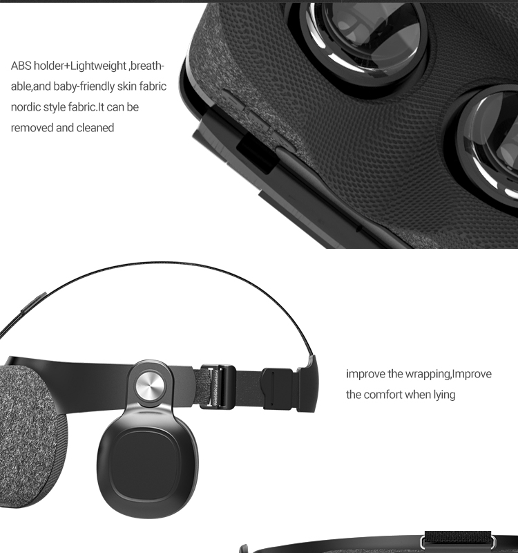 New BOBOVR Z5 VR Glasses Virtual Reality Headset BOBO VR Z5 Google Cardboard VR Box for iPhone for Xiaomi Android Smartphone (9)
