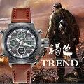 Montre Homme 2016 Часы мужчины luxury brand Спорт погружения 50 м ВЕЛА Военные часы Оригинальные кварцевые мужские часы Часы reloj hombre 3003